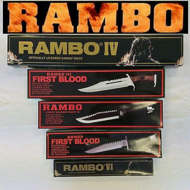 RAMBO Survival Knife / Machete Collection