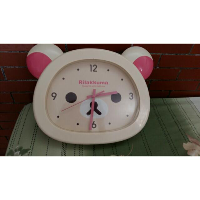 Rilakkuma Clock