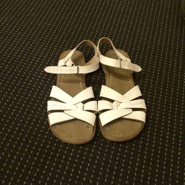 SALTWATER Sandals - White