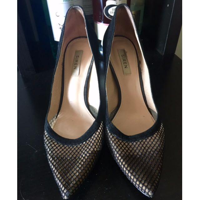 Siren Carele Black Heels