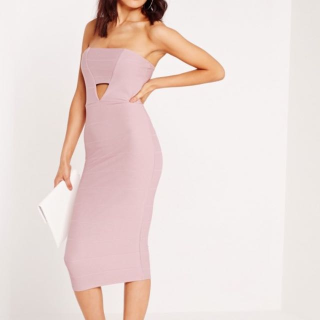 Stunning Lilac Dress Miss Guided