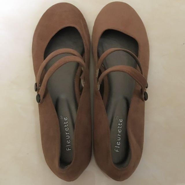 Sueded Flats Shoes
