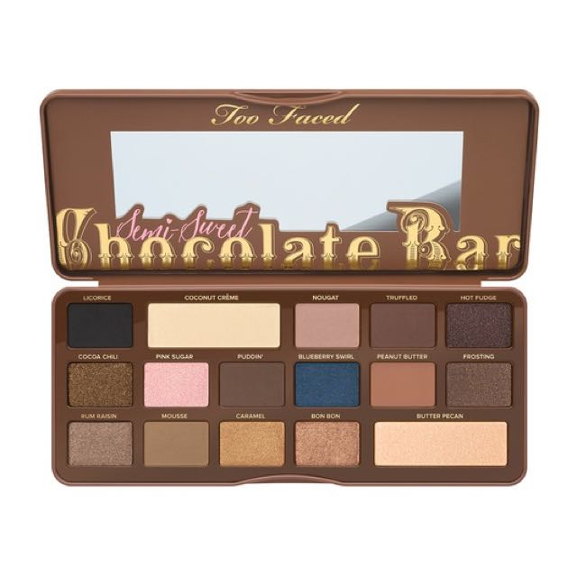 Too Faced Semi~sweet Chocolate Bar