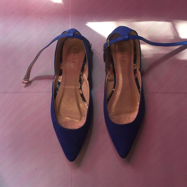 Vincci Blue Shoes