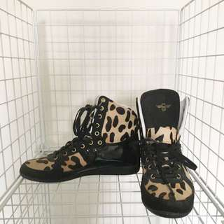 Leopard Print Sneaker Shoes