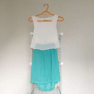 Costa Blanca Dress XS ($Negotiable)
