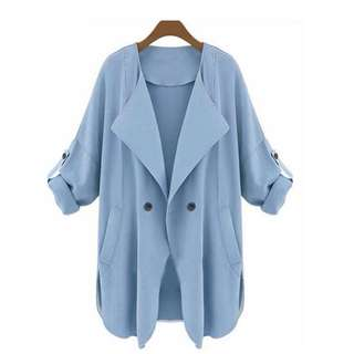 Casual Coat V-Neck (Brand New)
