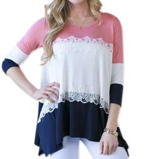 Dual Lace Shirt