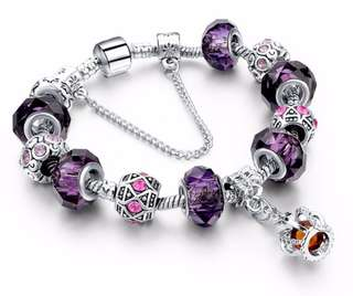 Silver Charm Bracelet (Brand New)