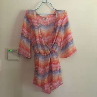 Colourful Playsuit.