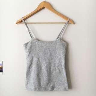 Kookai Grey Singlet Top