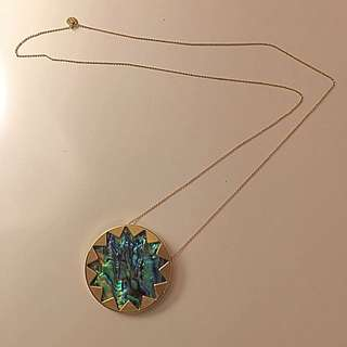 House Of Harlow Abalone Starburst Necklace PURCHASE PENDING