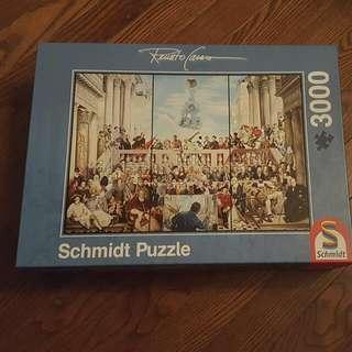 3000 Piece Puzzle - Schmidt