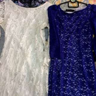 Lace dress short