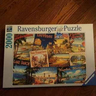 2000 Piece Puzzle - Ravensburger