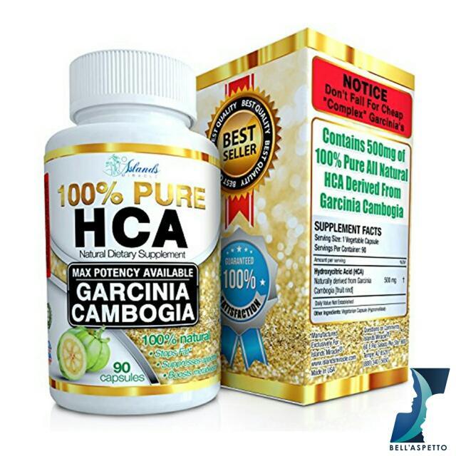 100 Pure Hca Garcinia Cambogia By Islands Miracle