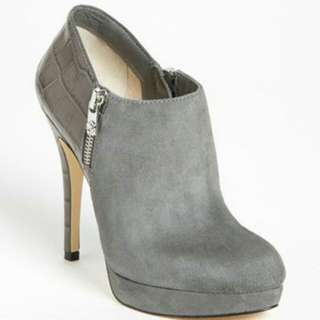 Michael Kors Grey York Ankle Booties