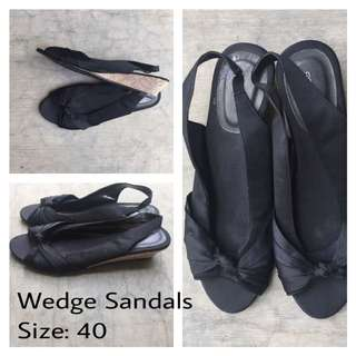 [USED] Wedge Sandals