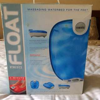 massaging waterbed for the feet