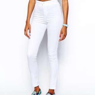 White Joni Jeans