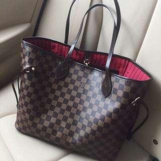 Louis Vuitton Neverfull MM Damier Bag