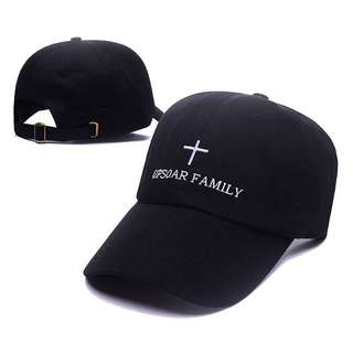 Upsoar Up Soar Family Black Curve Brim Golf Cap Hat Caps Hats with Adjustable Strapback