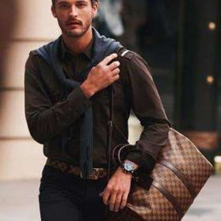 Pending Pick up UNISEX Louis Vuitton Keepall 45 Bag Damier
