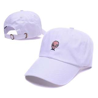 Upsoar Up Soar Alien White Curve Brim Golf Cap Hat Caps Hats with Adjustable Strapback