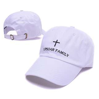 Upsoar Up Soar Family White Curve Brim Golf Cap Hat Caps Hats with Adjustable Strpaback