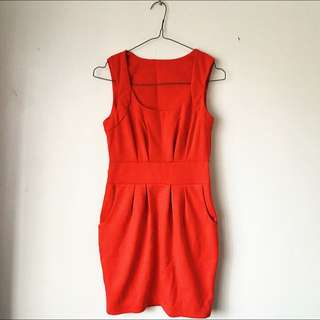 Valley Girl Red Dress