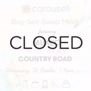 [CLOSED] Buy-Sell-Swap Meet