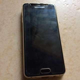 Samsung A3 Gold Colour (2016) 16gb