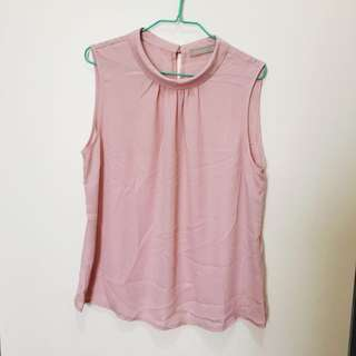Forecast Dusty Pink Top Size 16