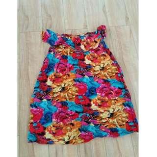 Summer Off Shoulder Dress..size 8