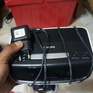 Philips Radio And Watch Display.