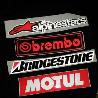 MotoGP Reflective Decal