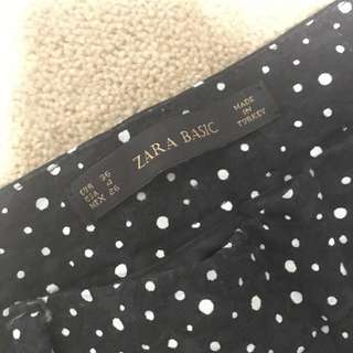 ZARA Slim Fit Pants (dotted Pattern)