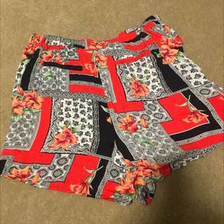 MINKPINK patterned Shorts
