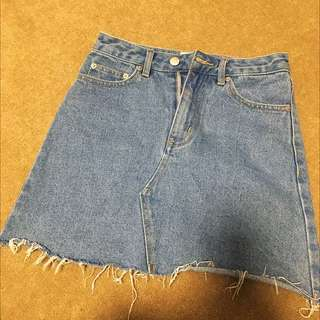 INSIGHT Denim Skirt