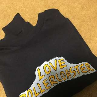 Love Roller coaster Navy Jumper