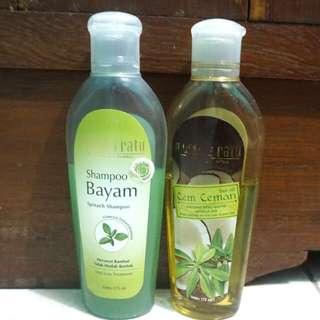 Shampoo Dan Hair Oil Mustika Ratu