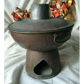 阿嬤的木炭煙囪火鍋爐值得收藏