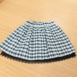 Comicou Plaid Skirt
