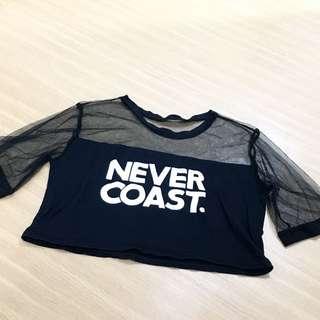 Mesh Never Coast Tee