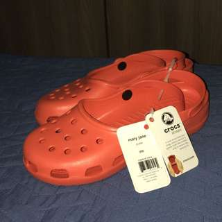 Authentic Crocs Mary Jane