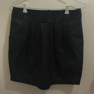 Leather Skirt Size 10