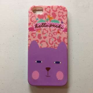 Casing IPhone 5 Cat (Scoop)