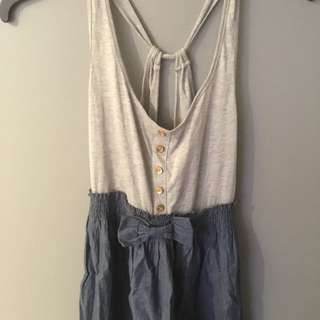 Fitted Top Dress - L