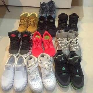 🚚 Nike Timberland Jordan SB Rushrun