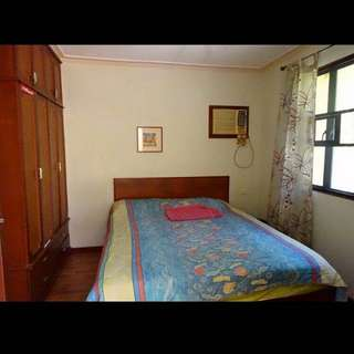 matrimonial gemilina wood bed for sale